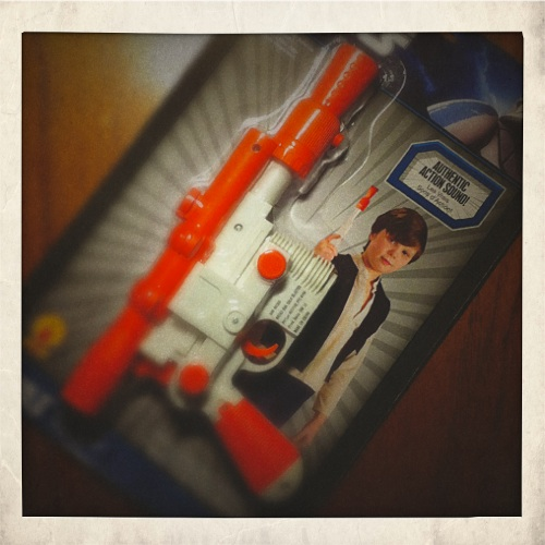 Han Solo's Blaster (package)
