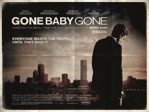 Poster from the movie «Gone Baby Gone»