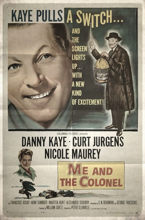 Poster from the movie «Me And The Colonel»