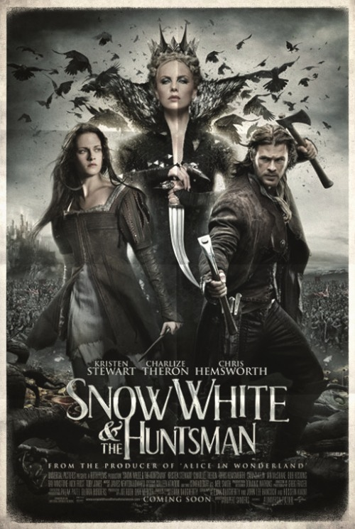 Poster from the movie «Snow White And The Huntsman»